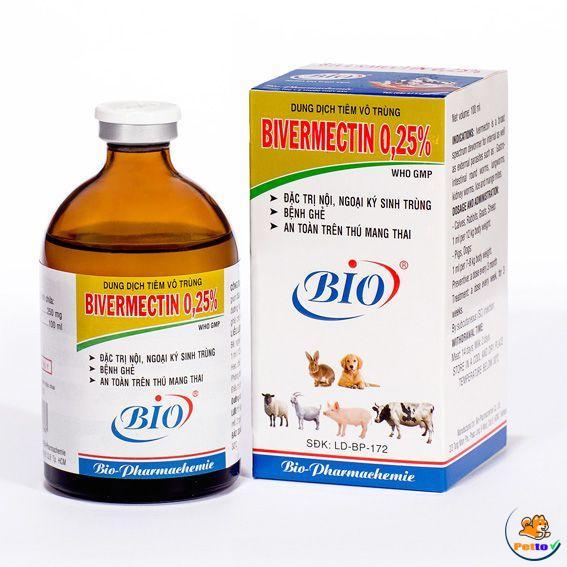 thuốc Bivermectin-trị bệnh viêm tuyến da