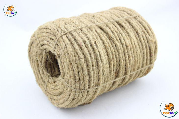 Mẫu dây quấn cho mèo cào, lên chọn những loại được làm từ thiên nhiên, giúp mèo dễ tiếp túc và dễ cào