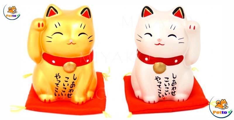 Mèo thần tài Maneki Neko Nhật Bản